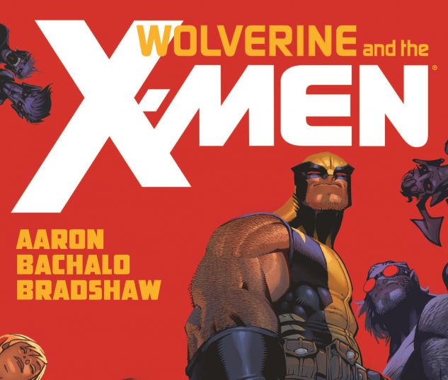 cover from Wolverine & the X-Men Vol. 1
