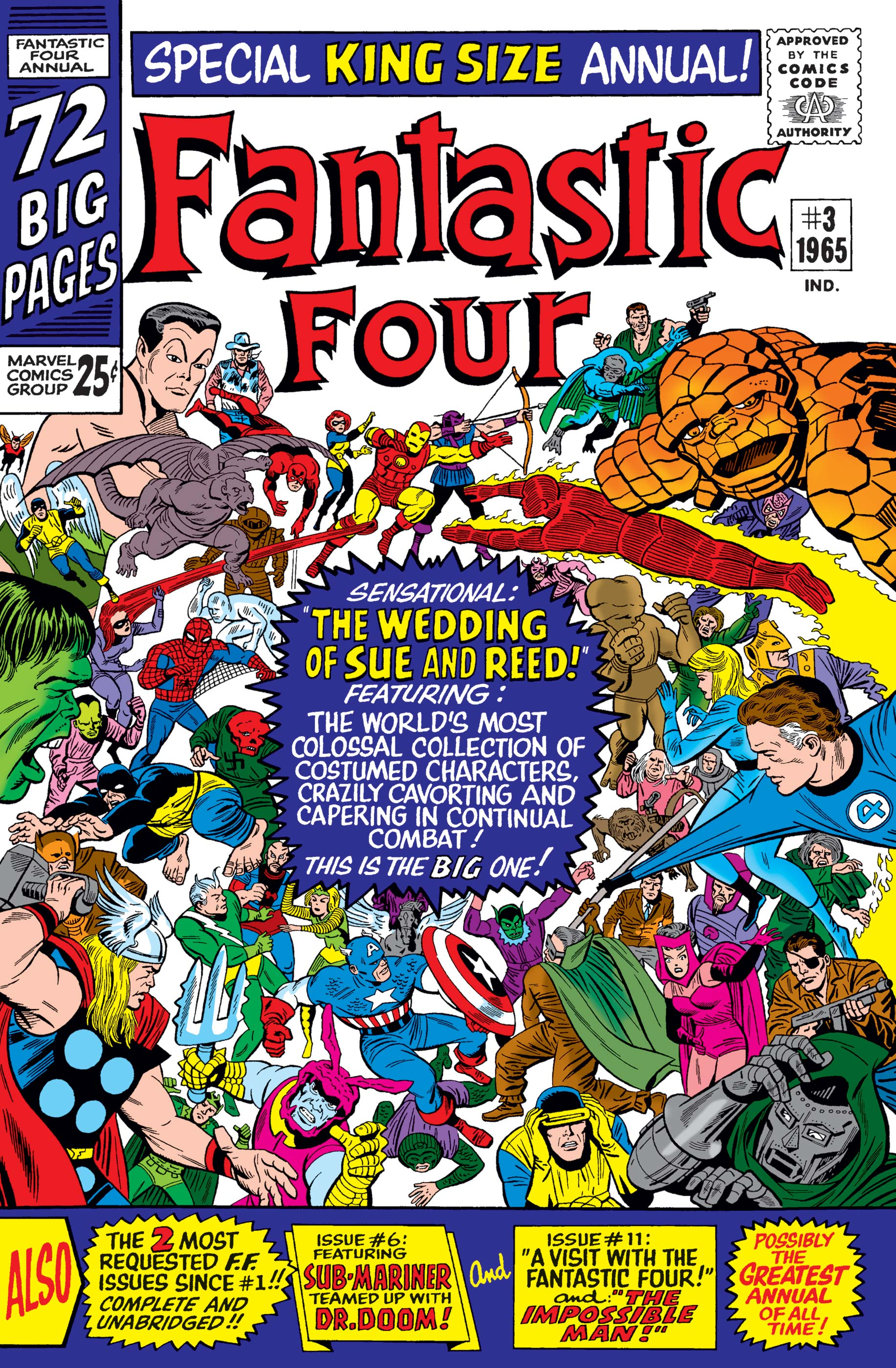 Fantastic Four Annual (1963) #3