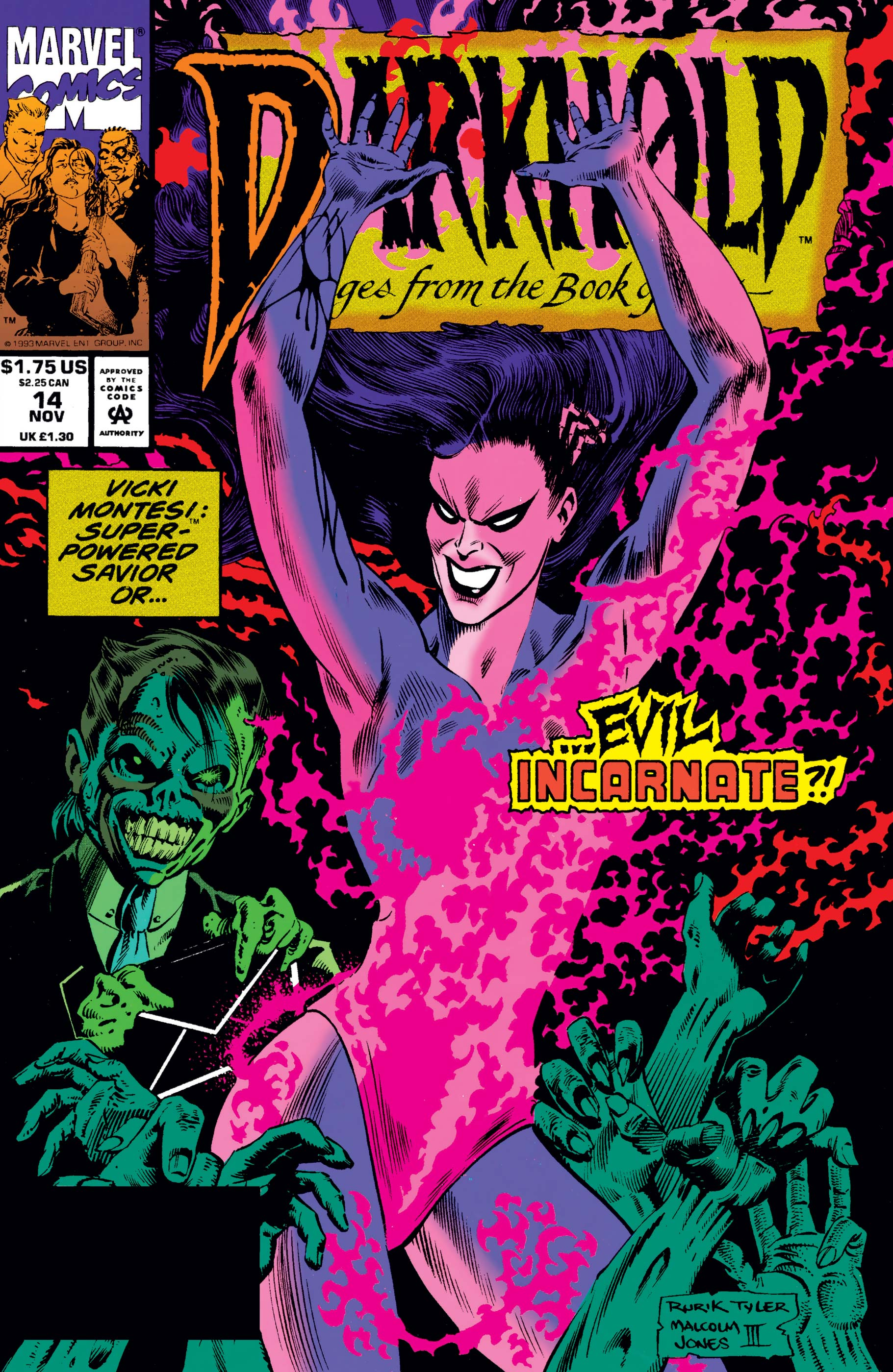 Darkhold: Pages from the Book of Sins (1992) #14