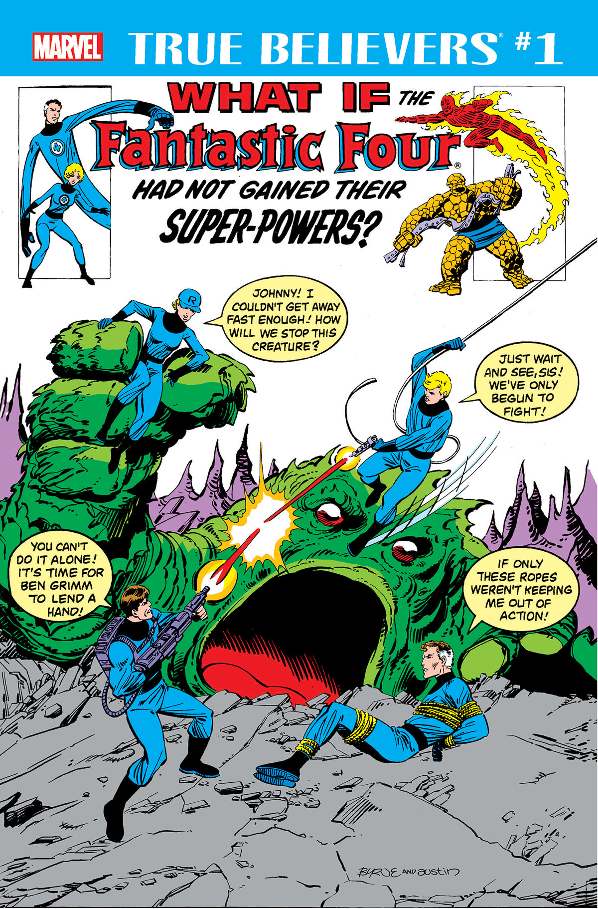 True Believers: What If the Fantastic Four had not Gained their Super-Powers? (2018)
