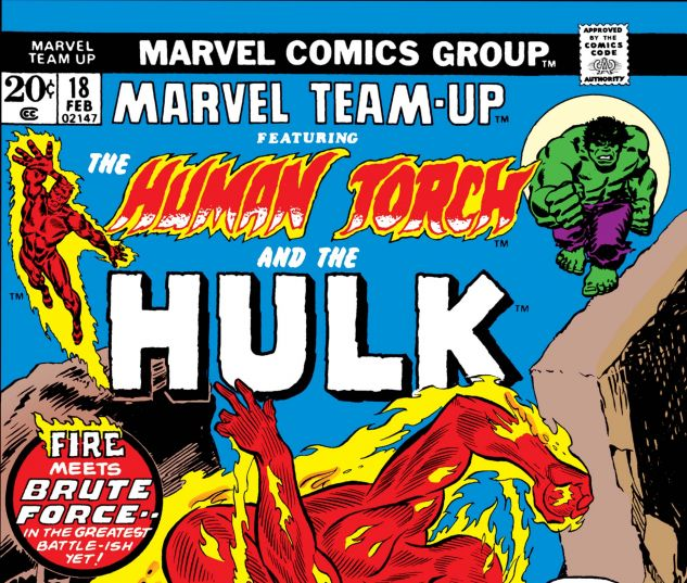 MARVEL TEAM-UP (1972) #18
