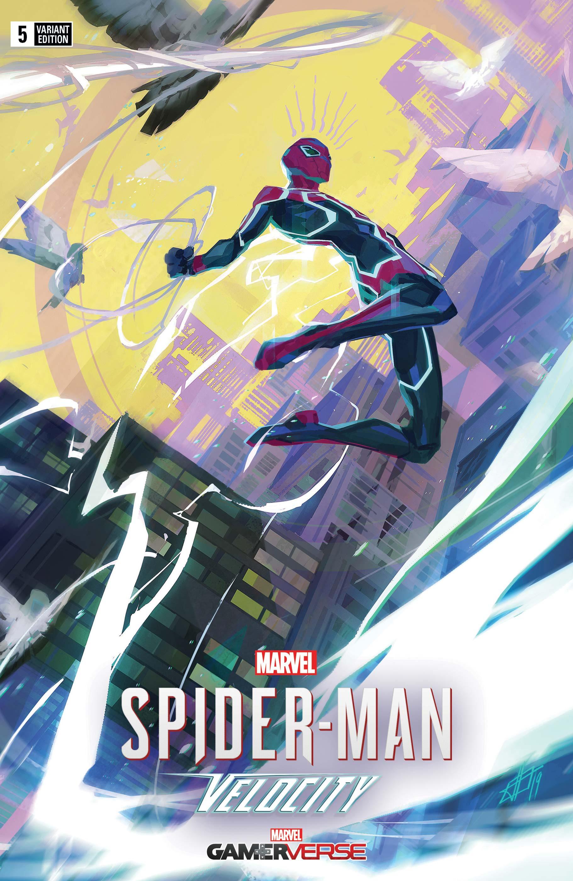 Marvel's Spider-Man: Velocity (2019) #5 (Variant)