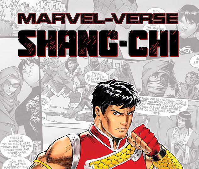 MARVEL-VERSE: SHANG-CHI GN-TPB #1