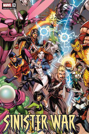 Sinister War (2021) #3 (Variant)