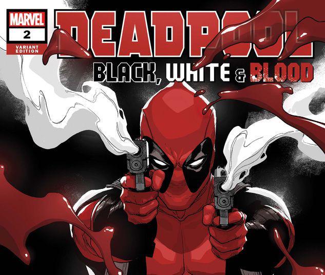 Deadpool: Black, White & Blood #2