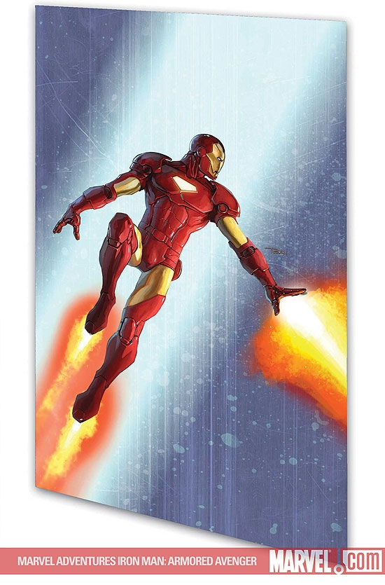 MARVEL ADVENTURES IRON MAN: ARMORED AVENGER DIGEST (Digest)