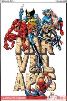 Marvel Apes (2008) #2 (JIMENEZ VARIANT)