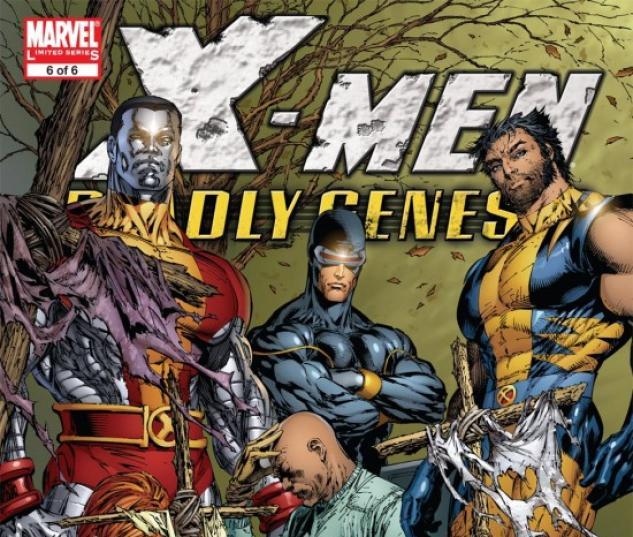 X-MEN: DEADLY GENESIS (2001) #6 COVER