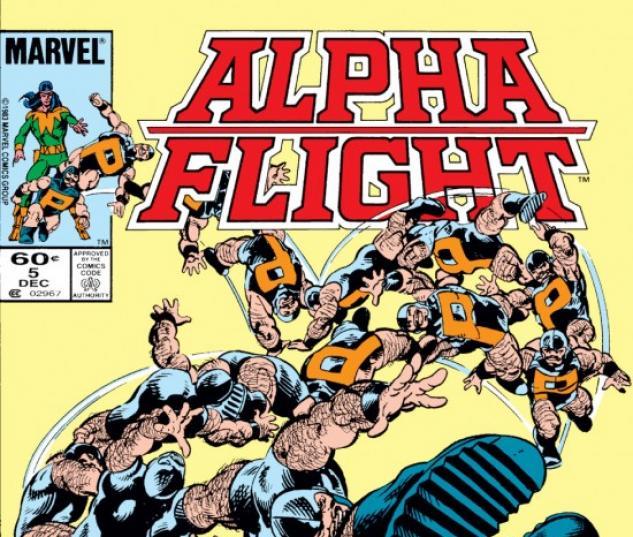 Alpha Flight #5