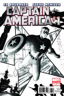 Captain America (2011) #1 (2nd Printing Variant)