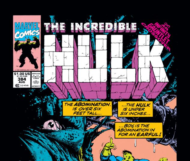 Incredible Hulk (1962) #384 Cover