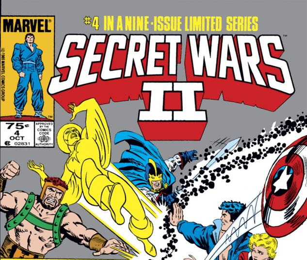 Secret Wars II (1985) #4 Cover