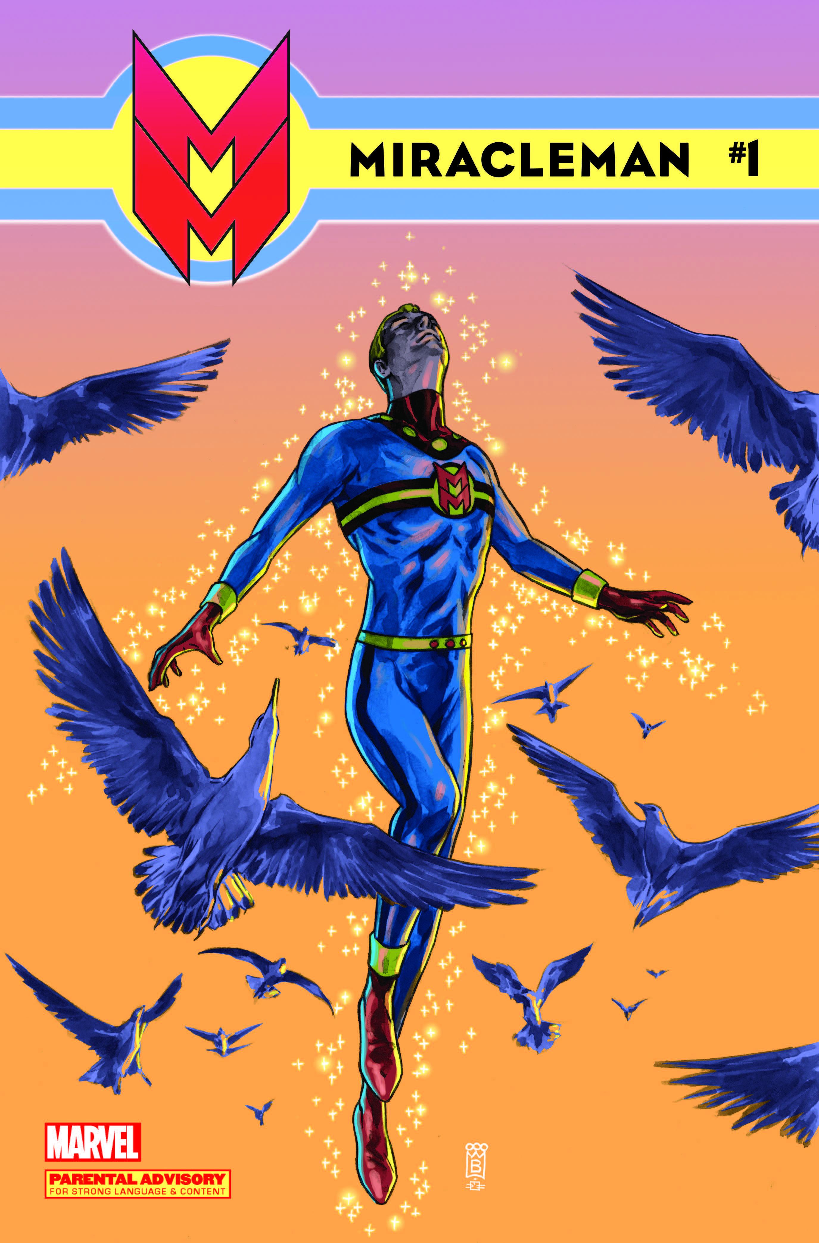 Miracleman (2014) #1 (Buckingham Variant)