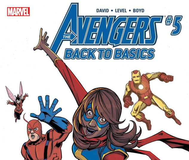 Avengers: Back to Basics CMX Digital Comic (2018) #5