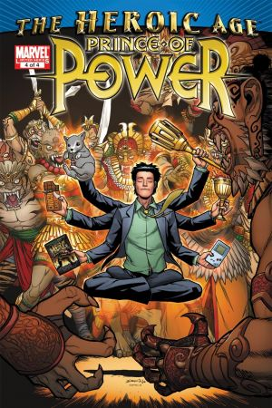 Heroic Age: Prince of Power (2010) #4