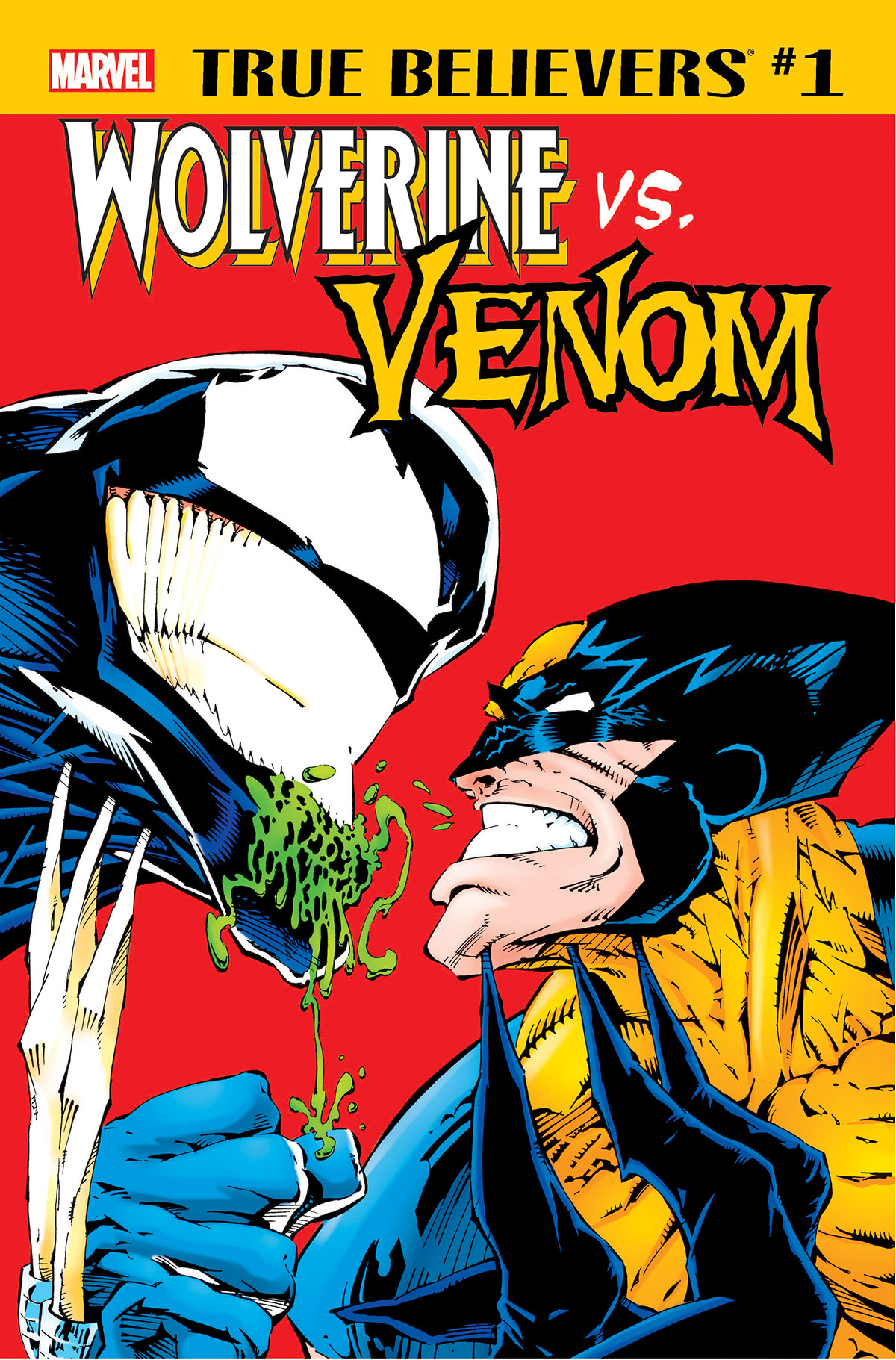 True Believers: Wolverine vs. Venom (2018) #1