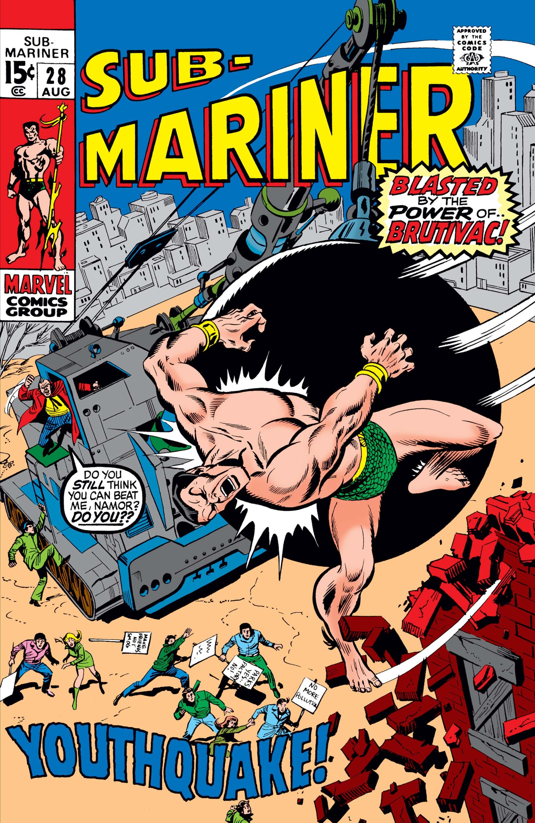 Sub-Mariner (1968) #28