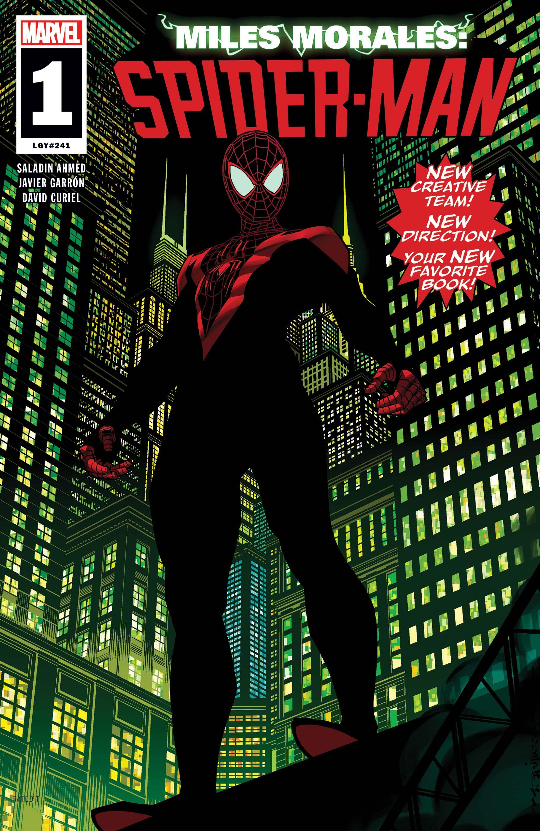 Miles Morales: Spider-Man (2018) #1