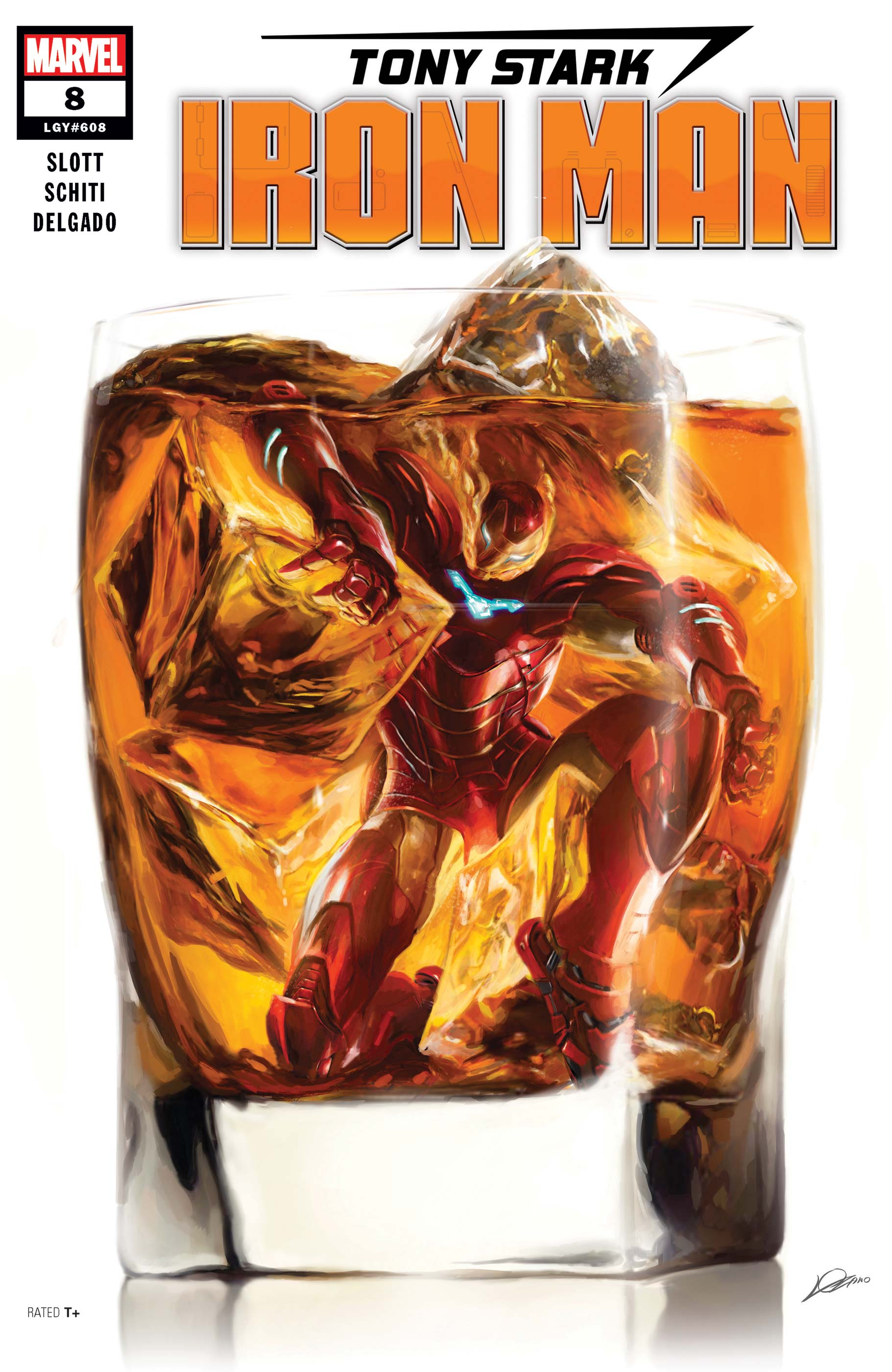 Tony Stark: Iron Man (2018) #8