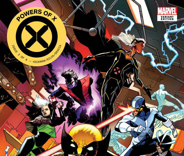 Powers of X #3