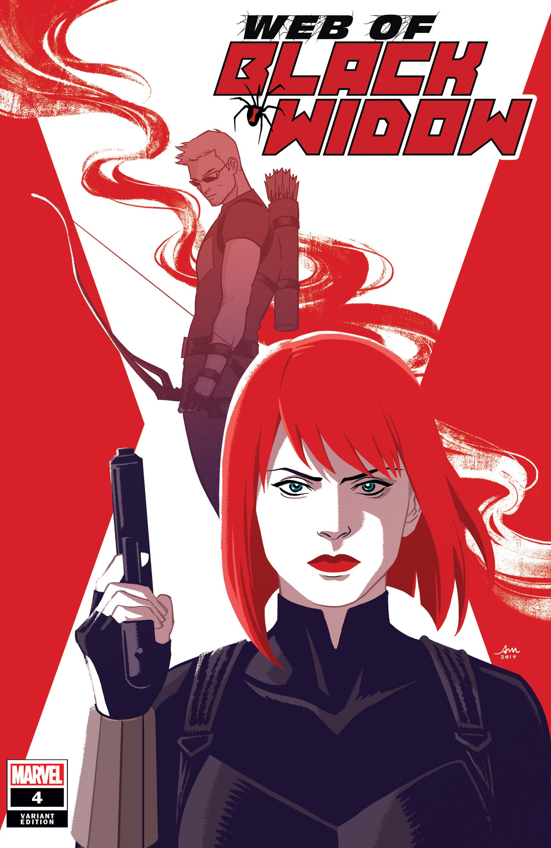 The Web of Black Widow (2019) #4 (Variant)