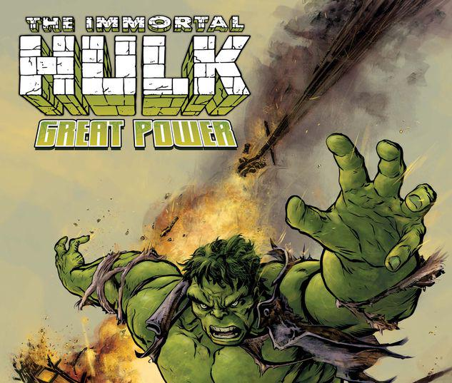 IMMORTAL HULK: GREAT POWER 1 FIUMARA VARIANT #1