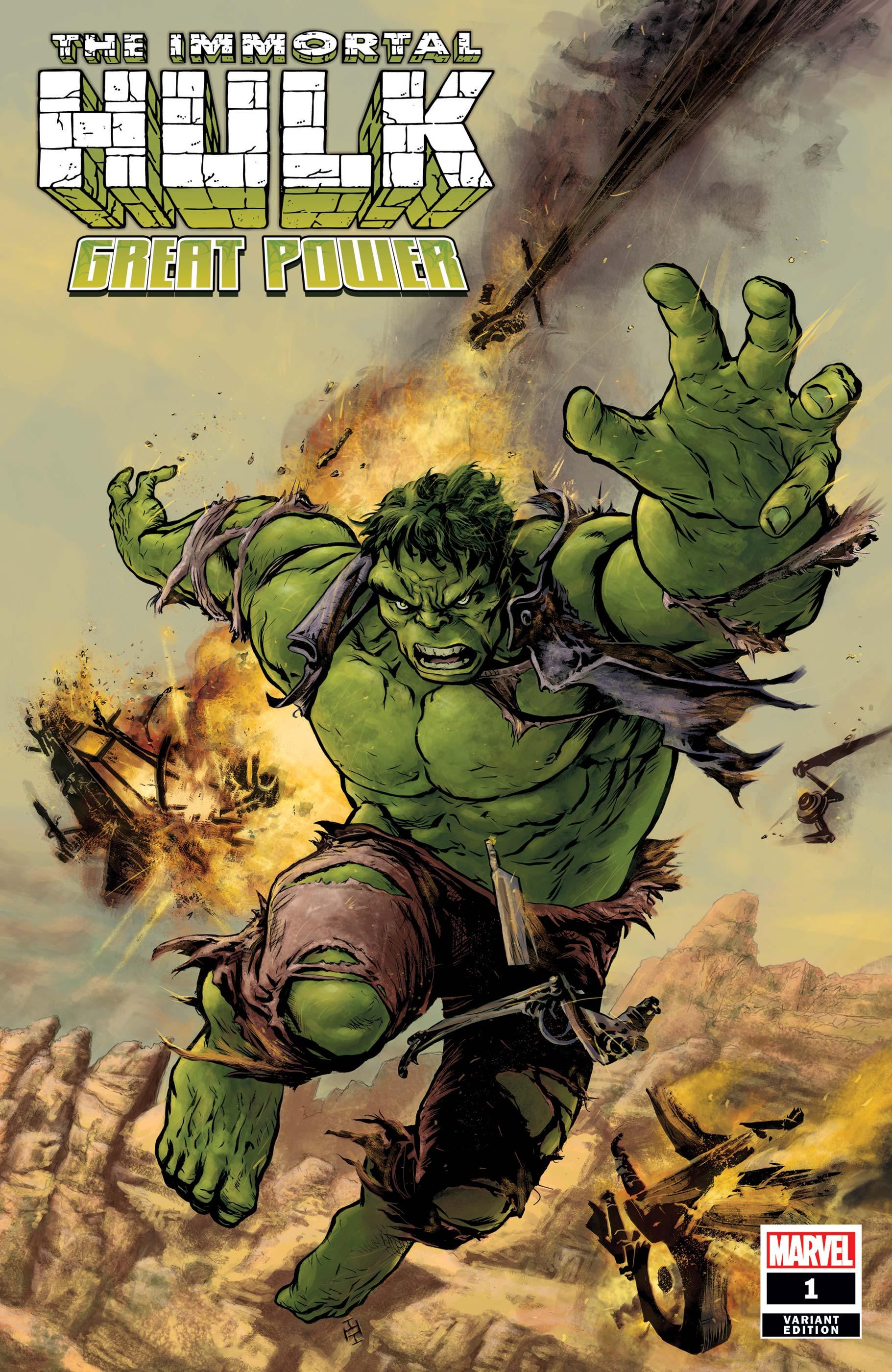 Immortal Hulk: Great Power (2020) #1 (Variant)