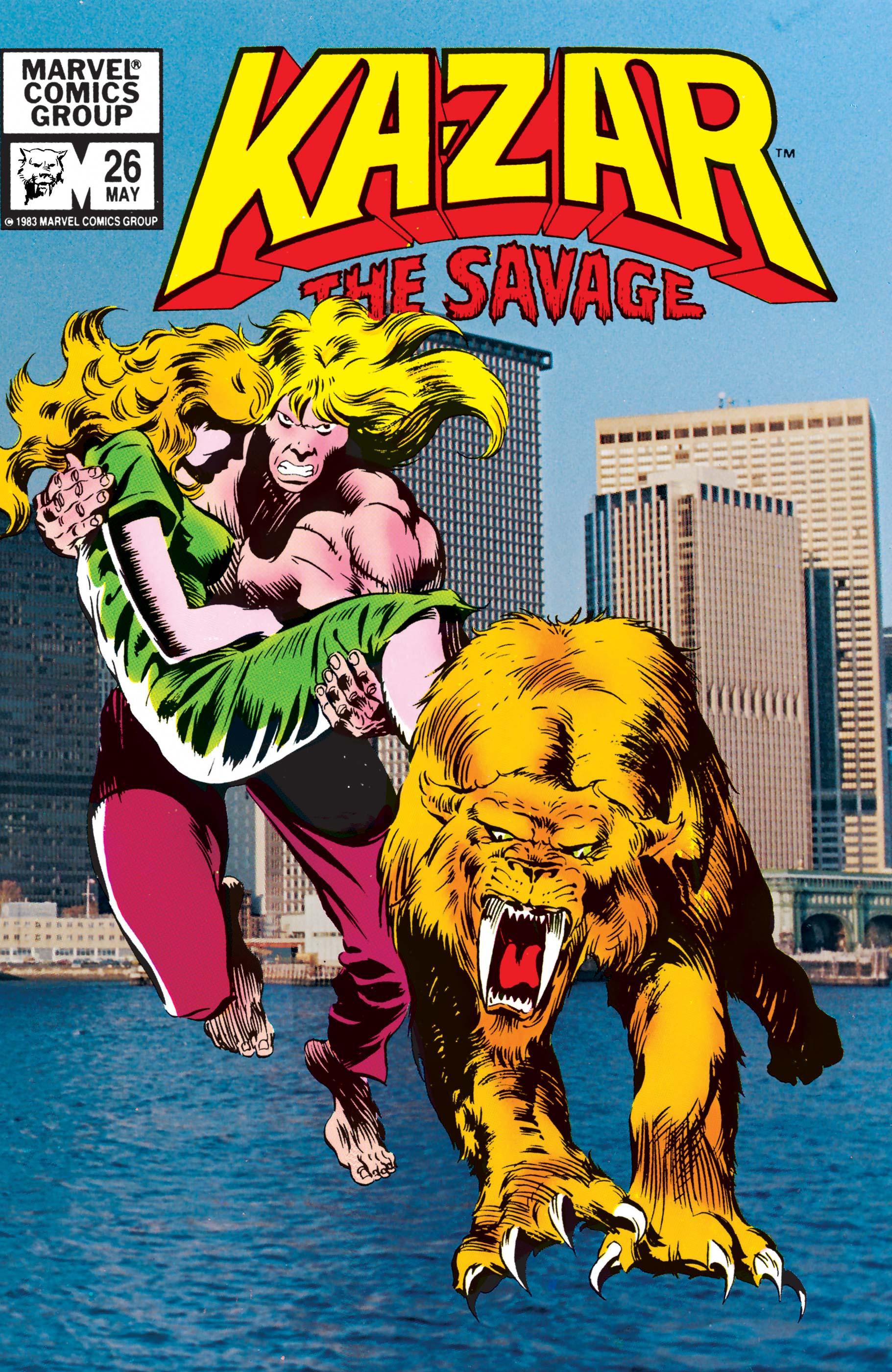 Ka-Zar (1981) #26