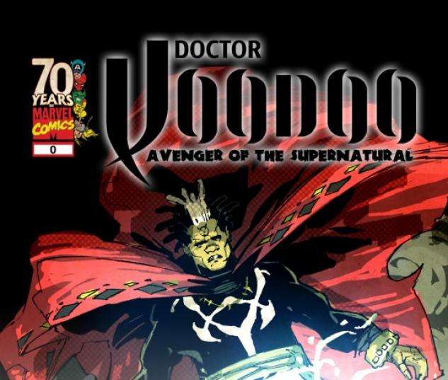 DOCTOR VOODOO: AVENGER OF THE SUPERNATURAL PROLOGUE #1