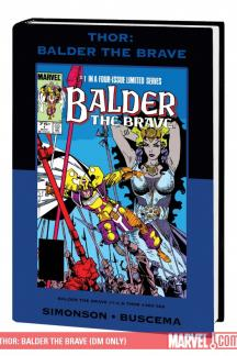 Thor: Balder the Brave (DM Only) (Hardcover)