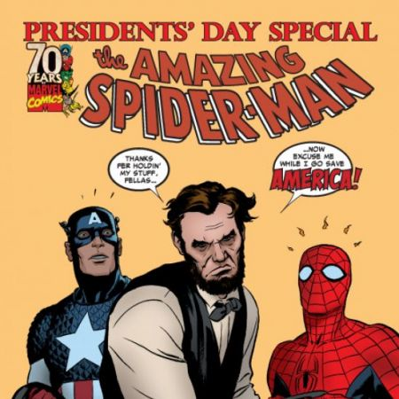 PRESIDENTS' DAY CELEBRATION DIGITAL COMIC 1 (2009) #1