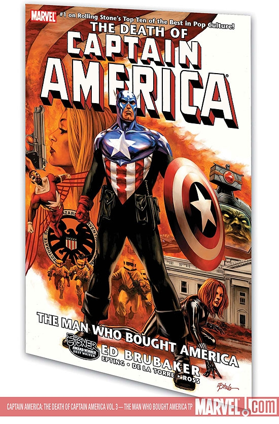 Captain America: The Death of Captain America Vol. 3 - The Man Who Bought America (Trade Paperback)