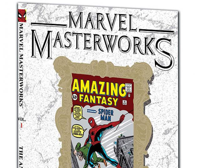 MARVEL MASTERWORKS: THE AMAZING SPIDER-MAN VOL. 1 TPB #0