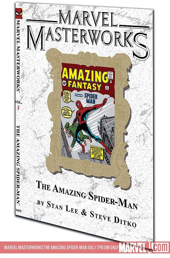 MARVEL MASTERWORKS: THE AMAZING SPIDER-MAN VOL. 1 TPB VARIANT [DM ONLY] (Trade Paperback)