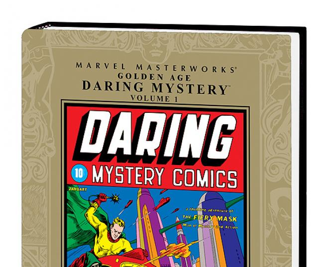 MARVEL MASTERWORKS: GOLDEN AGE DARING MYSTERY VOL. 1 HC #0