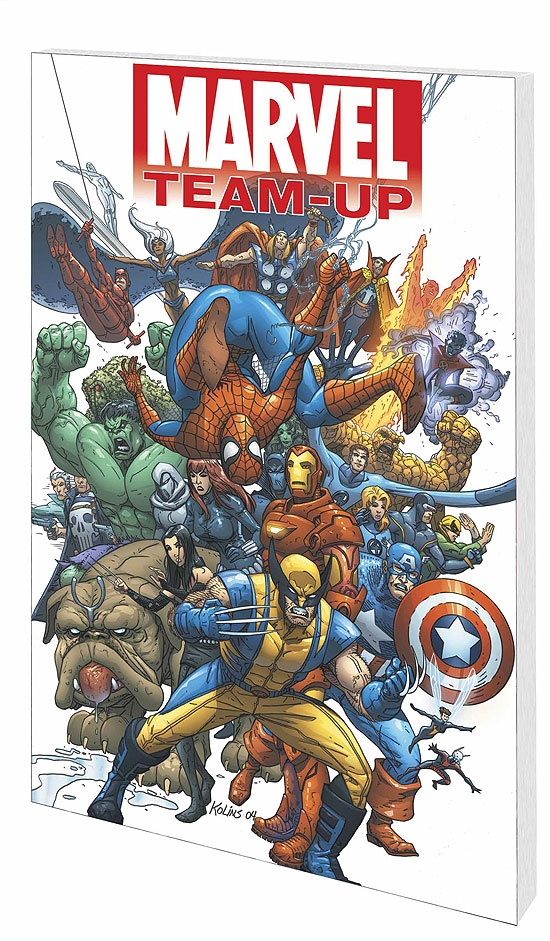 Marvel Team-Up Vol. 1: The Golden Child (Trade Paperback)