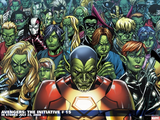 Avengers: The Initiative (2007) #15 Wallpaper