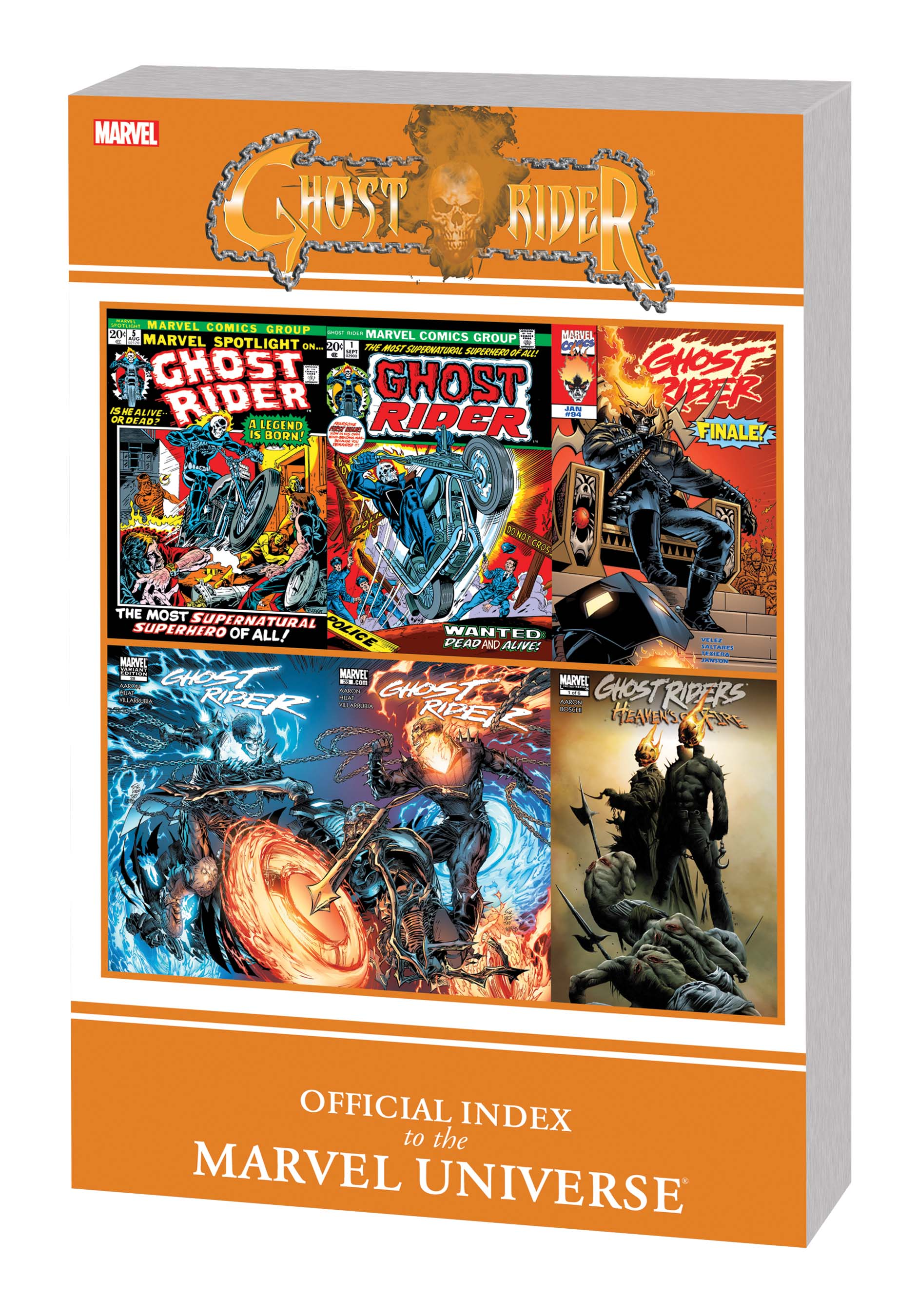 Ghost Rider: Official Index to the Marvel Universe GN-TPB (Graphic Novel)