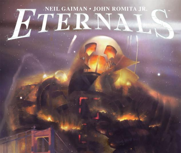 Eternals #4 Cover