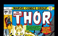 Thor (1966) #263 Cover