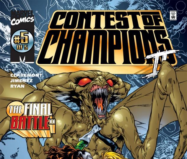 The Contest II (1999) #5 Cover
