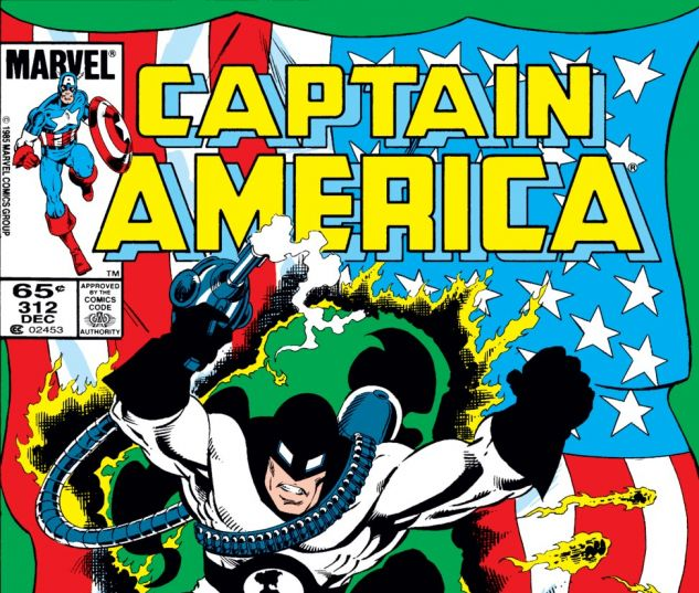 Captain America (1968) #312 Cover