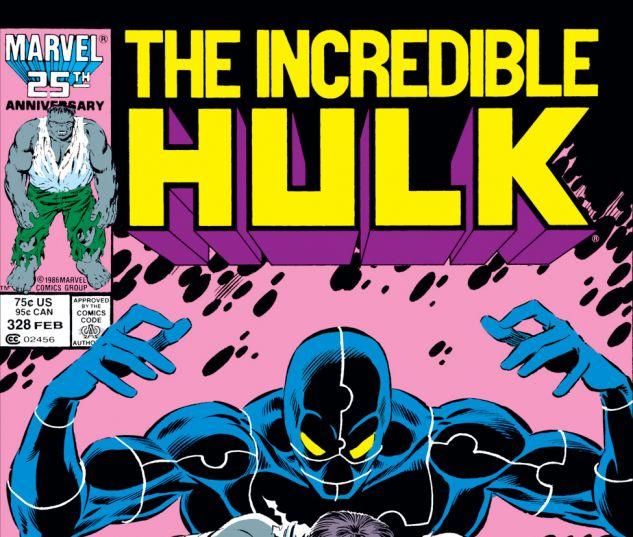 Incredible Hulk (1962) #328 Cover