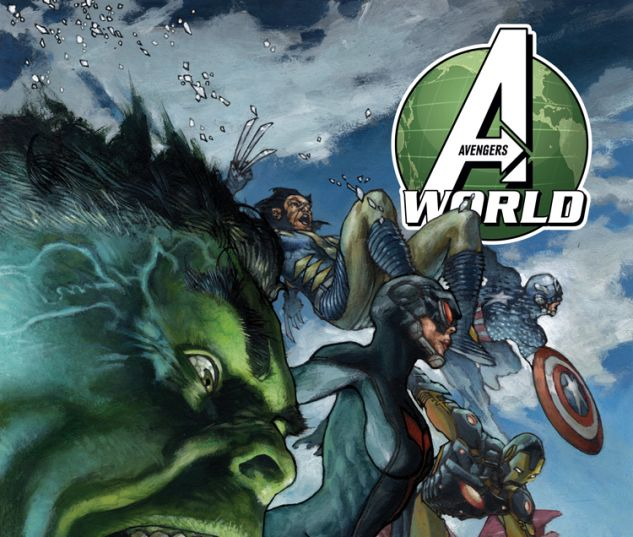 AVENGERS WORLD 2 BIANCHI VARIANT (ANMN, WITH DIGITAL CODE)