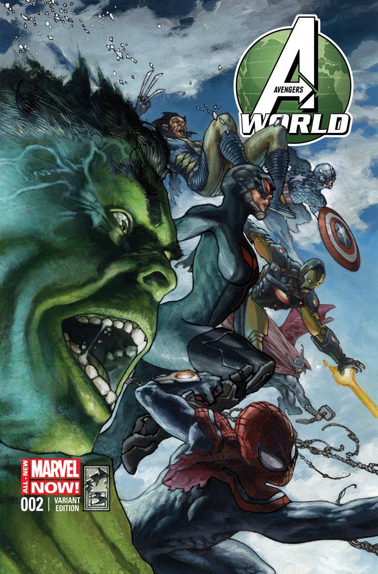 Avengers World (2014) #2 (Bianchi Variant)