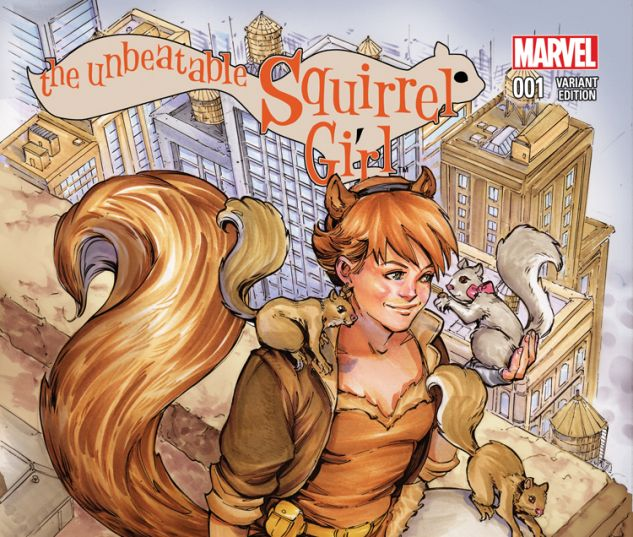 THE UNBEATABLE SQUIRREL GIRL 1 OUM VARIANT (WITH DIGITAL CODE)