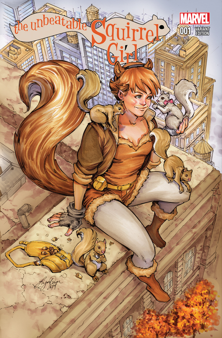 The Unbeatable Squirrel Girl (2015) #1 (Oum Variant)