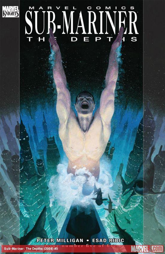 Sub-Mariner: The Depths (2008) #5