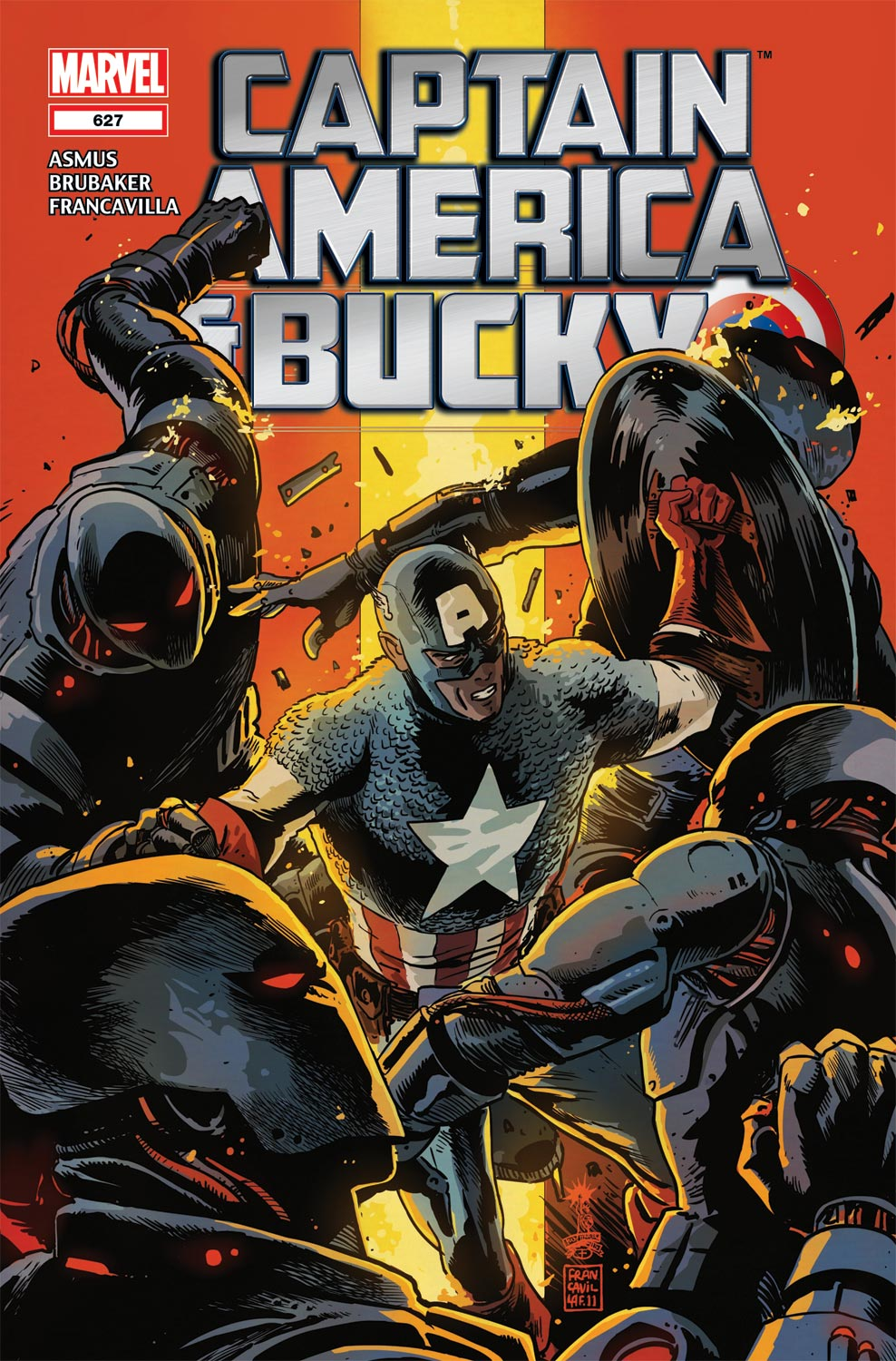 Captain America and... (2012) #627