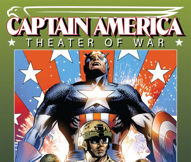 CAPTAIN AMERICA: THEATER OF WAR: GHOSTS OF MY COUNTRY (2009) #1 Cover